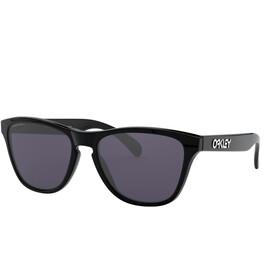 Oakley Frogskins XS Zonnebril Jongeren, polished black/prizm grey